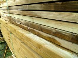 5x3 Timber Rails