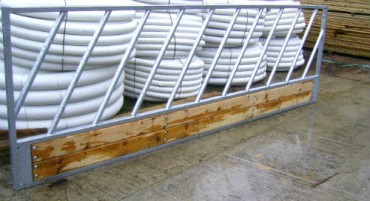 Galvanized Feed Barriers