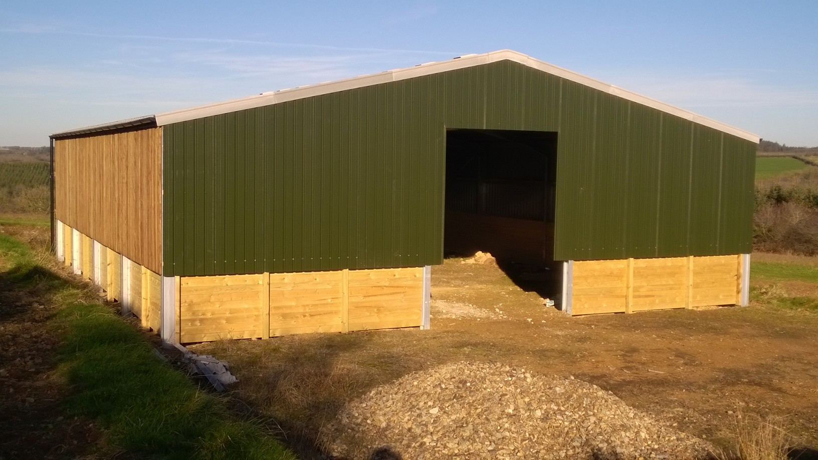 Construction Of Steel Buildings: Steel Frame Buildings From South West Steel